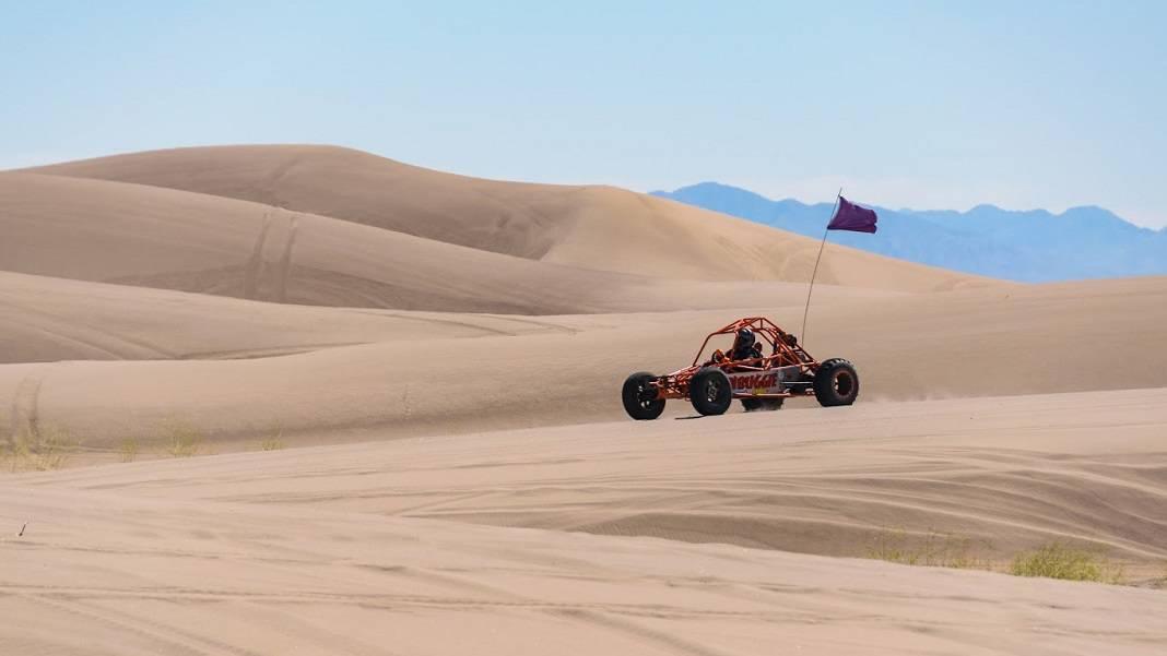ATV Nevada Sand Dunes