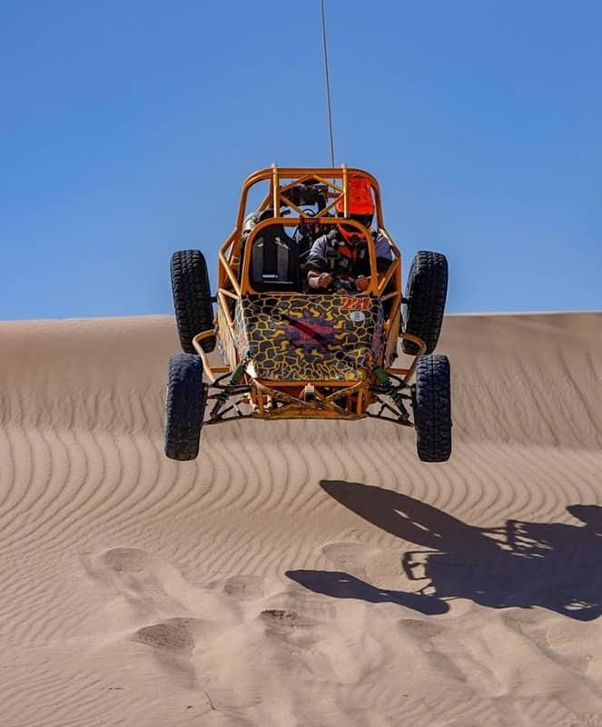 ATV Nellis Sand Dunes Nevada