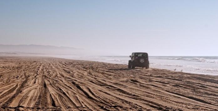 Oceano CA beach OHVA
