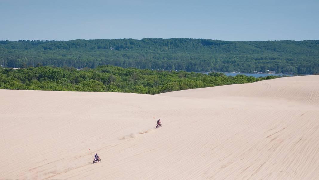 ATV Michigan Sand Dunes