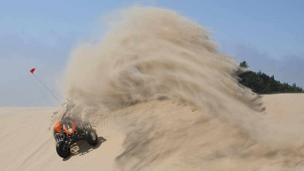 ATV Oklahoma Sand Dunes