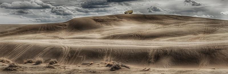 Christmas Sand Dunes Oregon