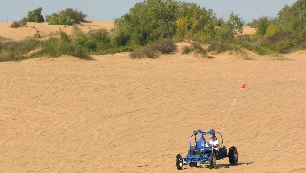 ATV OK Sand Dunes