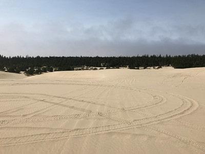 OHV area mid Oregon coast