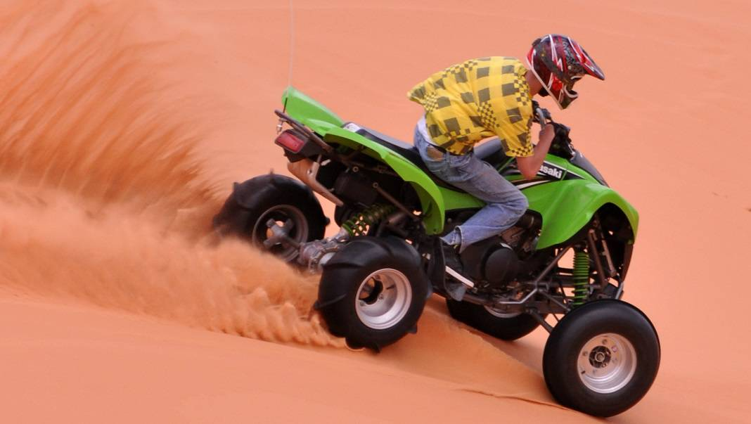 Kanab Utah ATV Sand Dunes