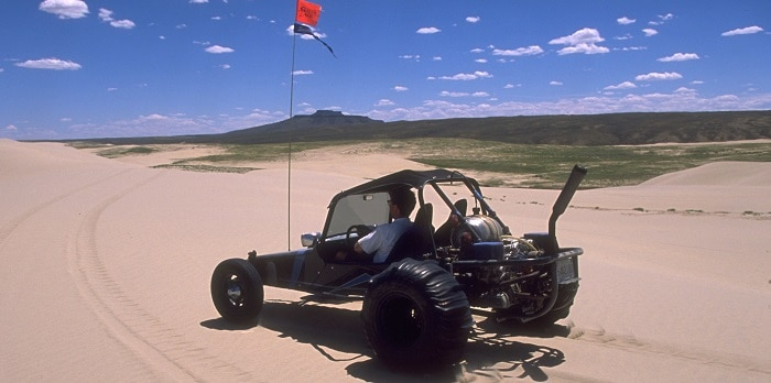 WY Off Roading Sand Dunes