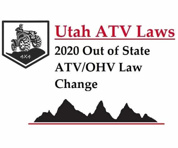 Utah ATV Laws