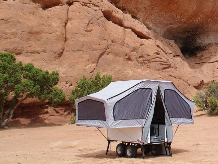 ATV Camper Trailer