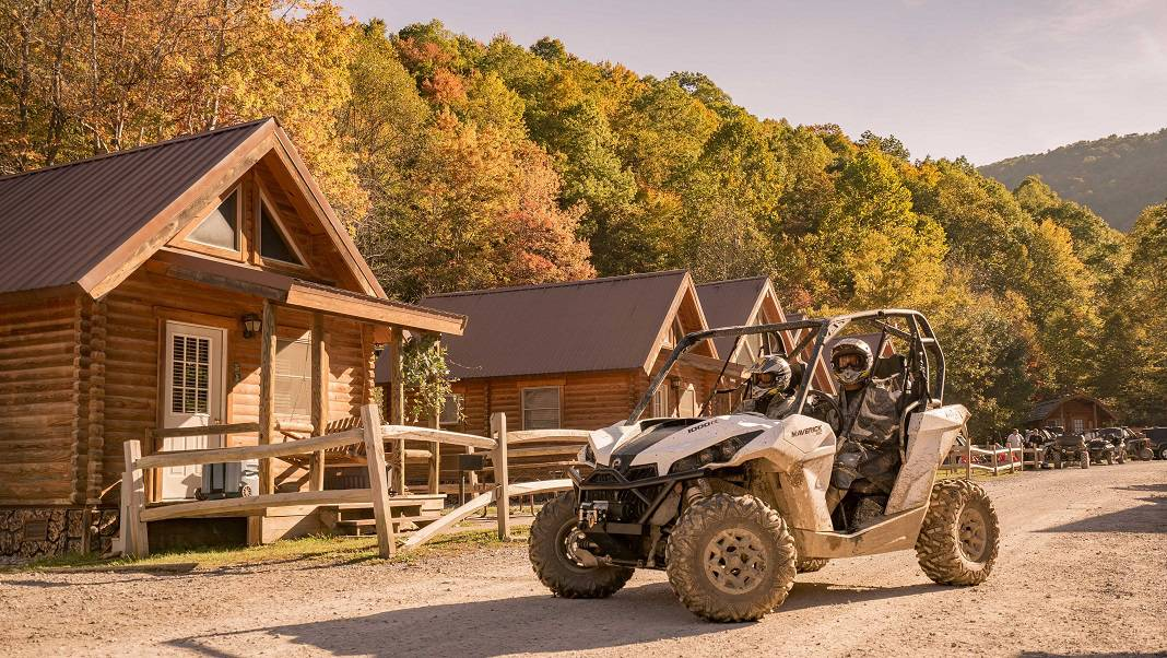 Hatfield McCoy Trail Cabins