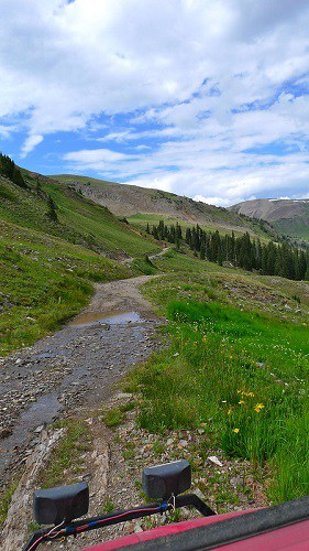 ATVing the Alpine Loop in Colorado