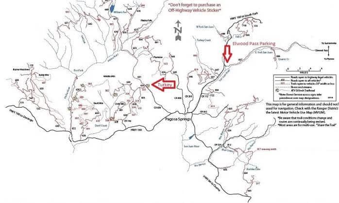 Pagosa Springs ATV Trails