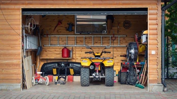 ATV garage 1068