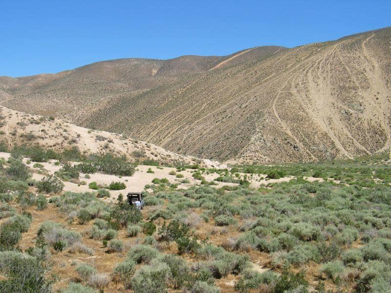 ATVing Jawbone Canyon CA