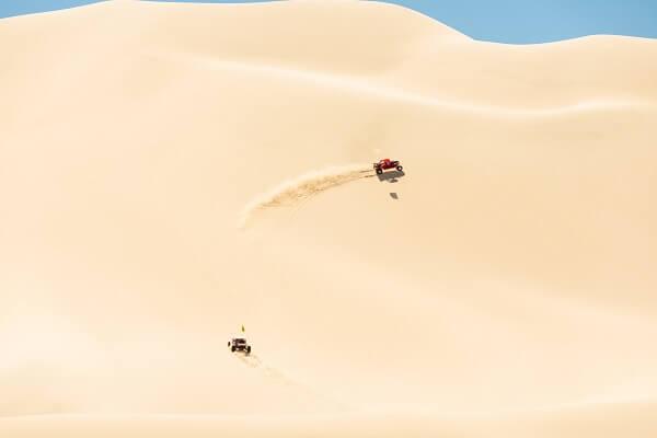 Baker CA Sand Dunes