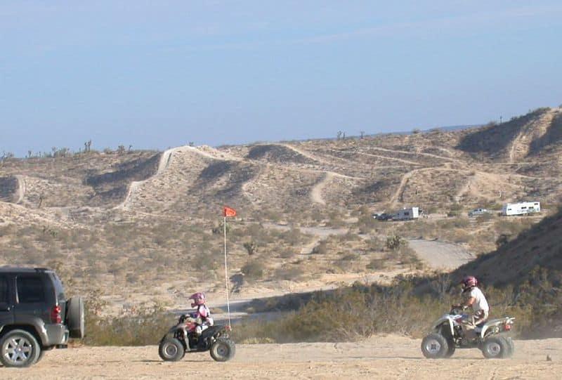 CA off roading area