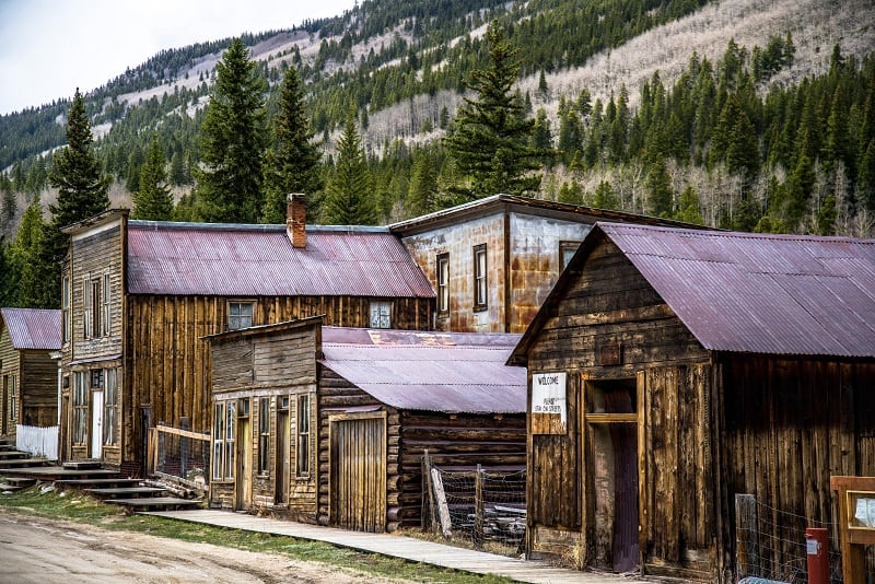 St. Elmo CO ghost town 800