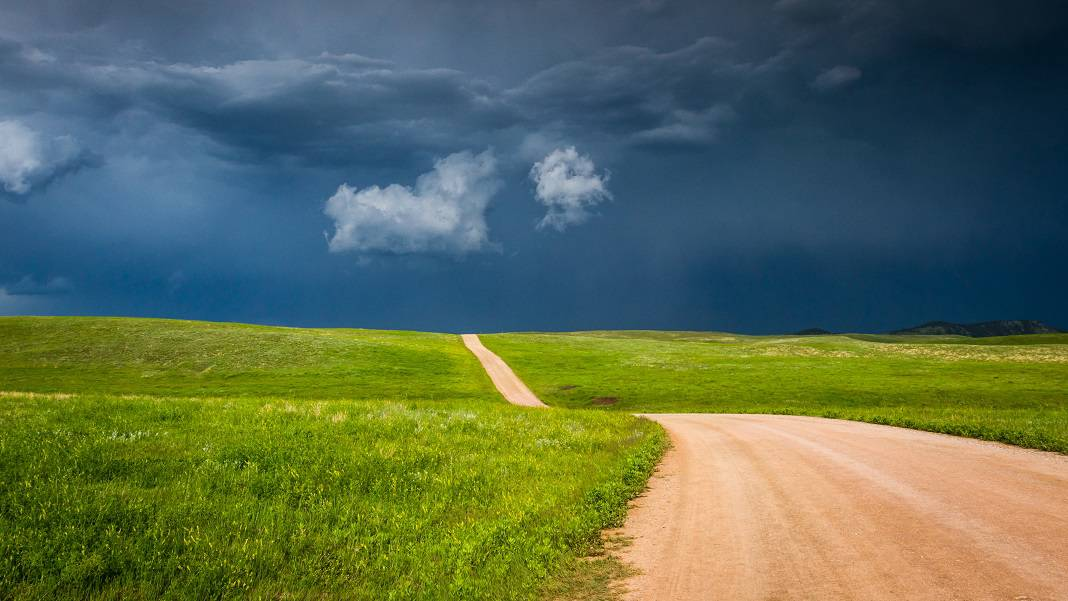Off roading in South Dakota