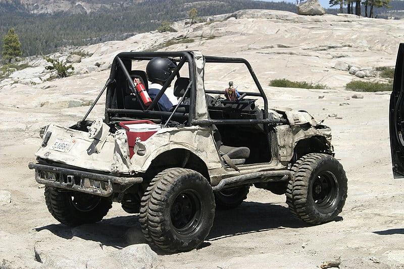 Rubicon Offroading Trail CA