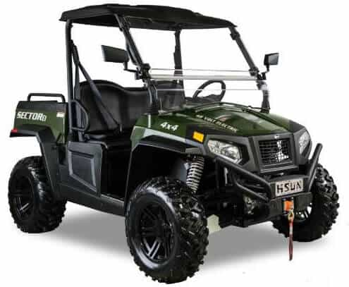 Hisun electric UTV