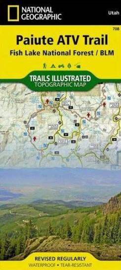 Paiute ATV Trail Map