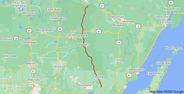 Nicolet State Trail WI