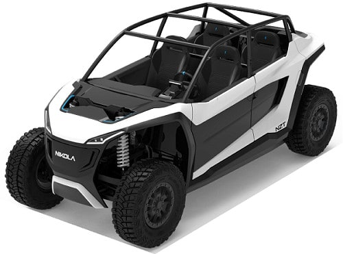Nikola NZT electric UTV