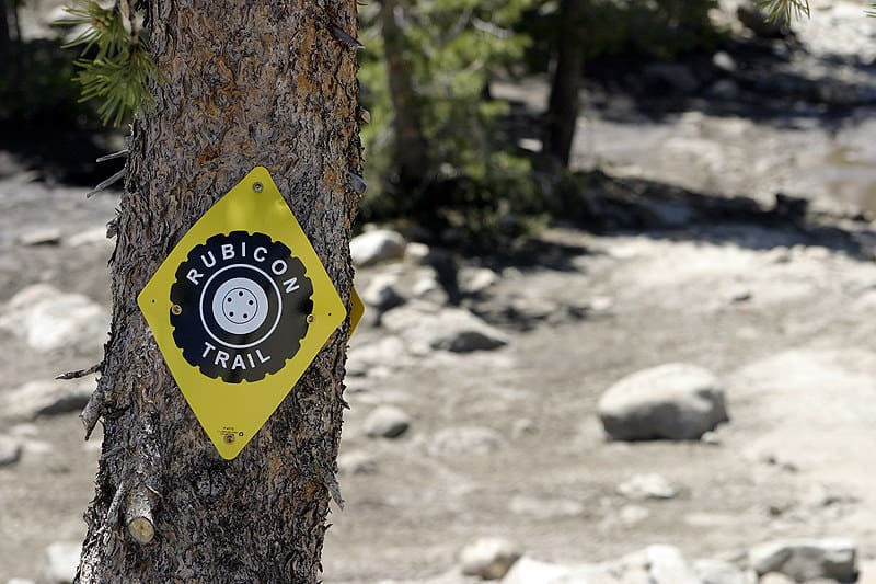 Lake Tahoe CA offroad trail