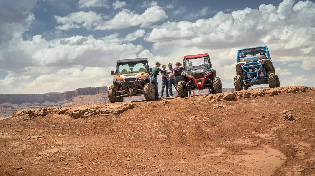 Offroad Hurrah Pass Moab UT