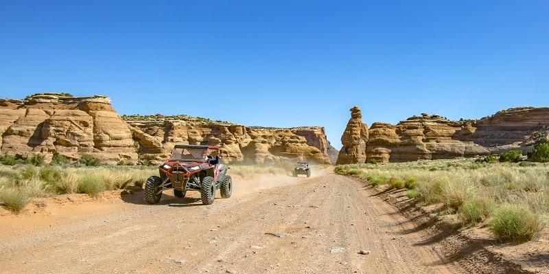 Offroading In Moab Utah