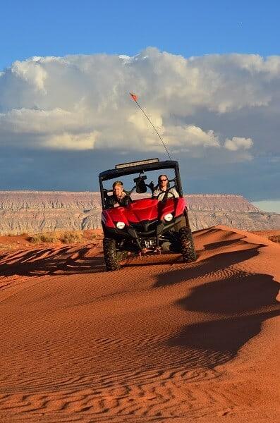 ATV trail in Moab