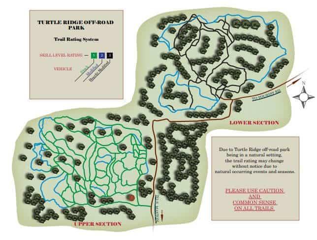 Turtle Ridge Off Road Park Drummond Island