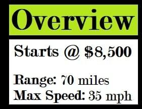 DRR USA EV Adventure Electric ATV stats