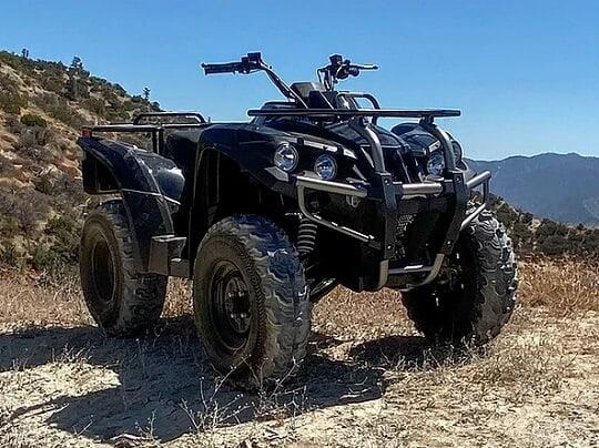DRR USA EV Adventure Electric ATV
