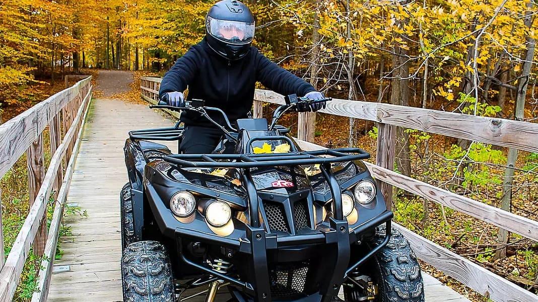 DRR USA Electric ATV