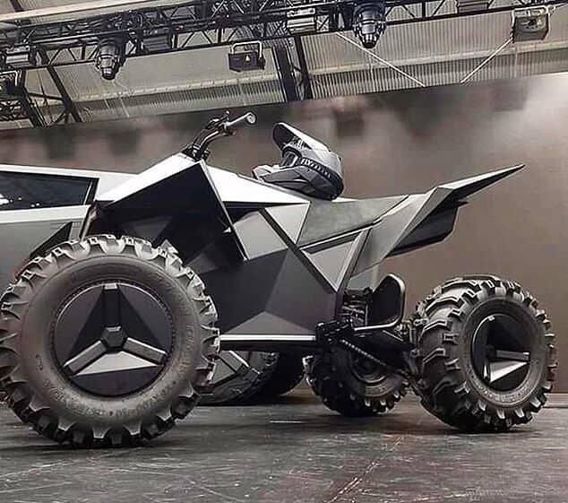 Tesla Cyberquad Electric ATV