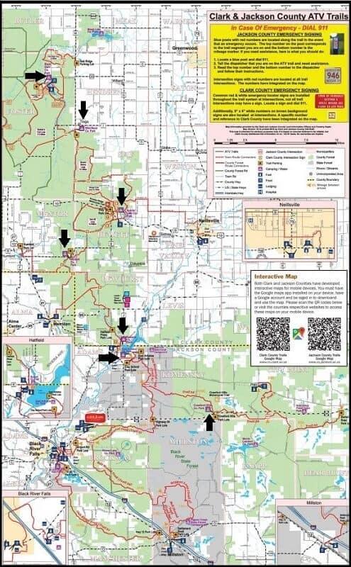 Black River Falls ATV Trails