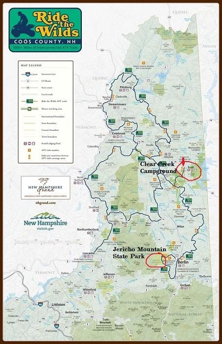 NH Ride The Wilds ATV Campground