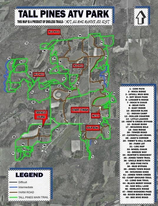 Tall Pines NY ATV Campground