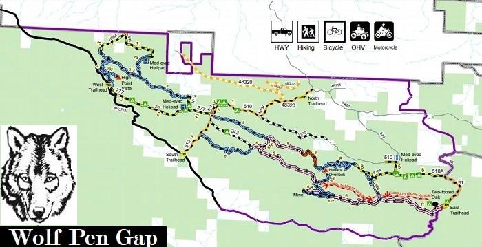 Wolf Pen Gap RV ATV Campground