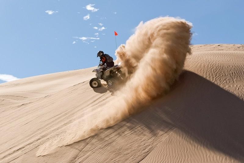 ATV at Glamis Sand Dunes