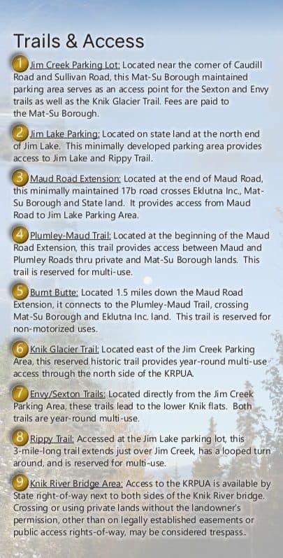 Knik Glacier ATV Trails