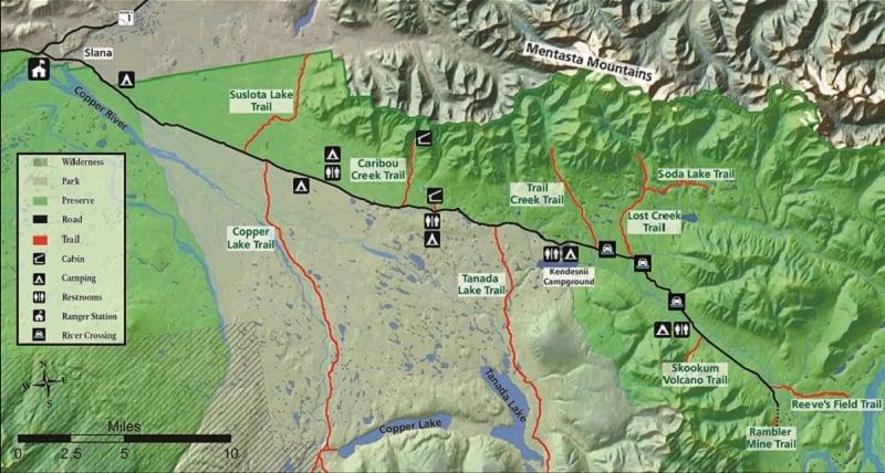 Nabesna Road Alaska ATV Trails