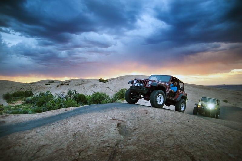 Offroading in Moab UT