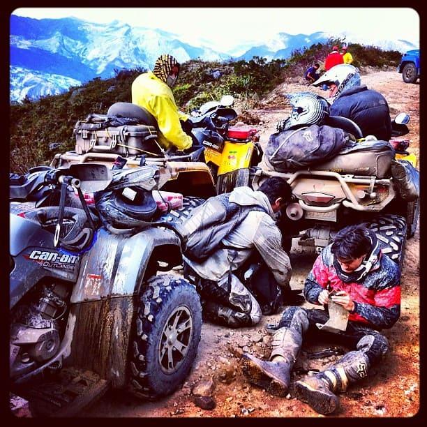 ATV Maintenance Trail Repair