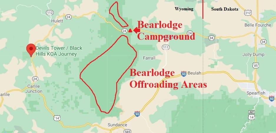 Black Hills ATV Trails In Wyoming