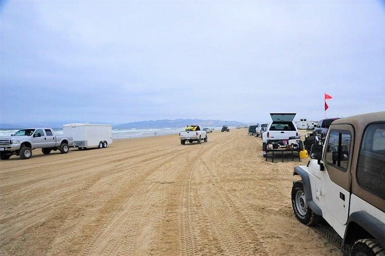 Camping At Oceano Dunes