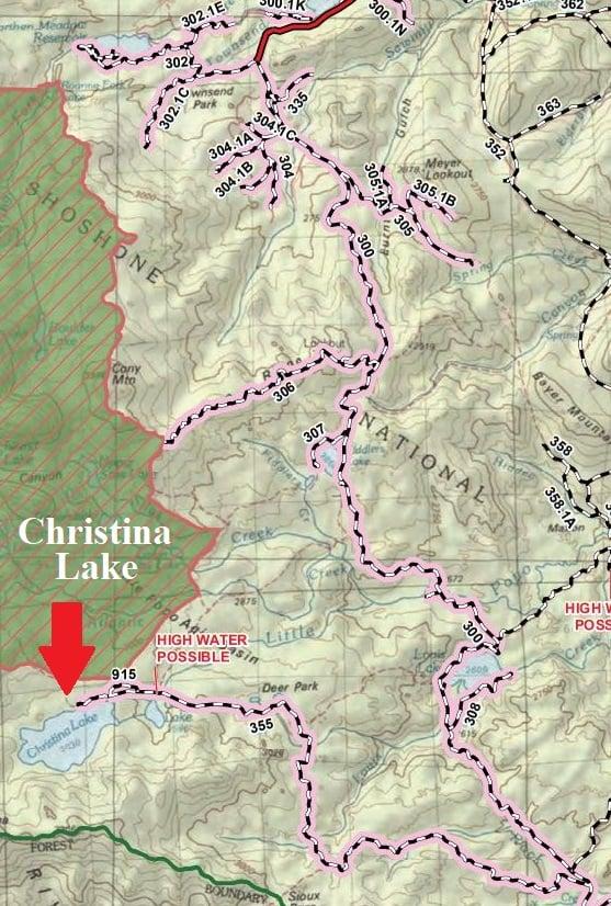 Christina ATV Trails In Wyoming