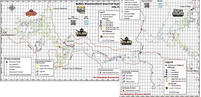 Devil Anse Hatfield McCoy Trails