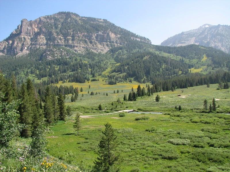 Teton National Park ATV Trails In Wyoming