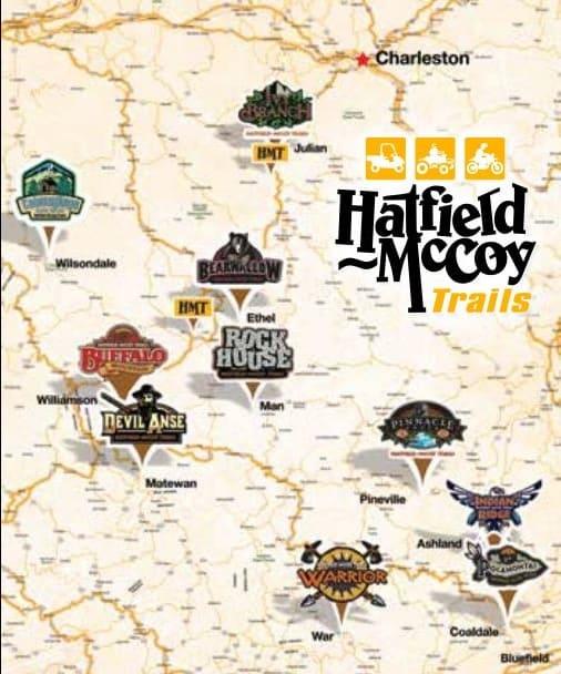 Hatfield McCoy Trails